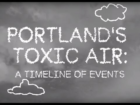 Portland's toxic air: A timeline of events
