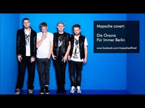 Mapache Covert: Die Orsons - Für Immer Berlin
