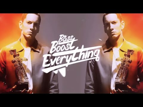 Eminem - The Real Slim Shady (Trap Remix) [Bass Boosted]