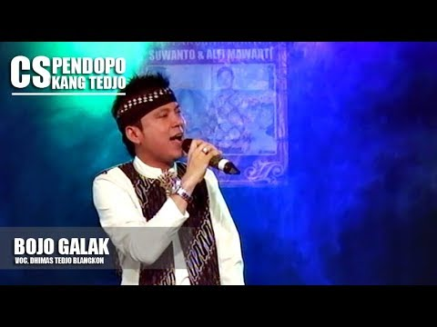 DHIMAS TEDJO BLANGKON | BOJO GALAK (PENDHOZA)  Cs. PENDOPO KANG TEDJO