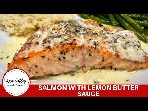 How to cook Salmon with Lemon Butter Sauce