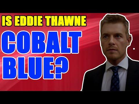 """The Flash Season 2 - Is Eddie Thawne """"Cobalt Blue"""" or """"Zoom"""""""