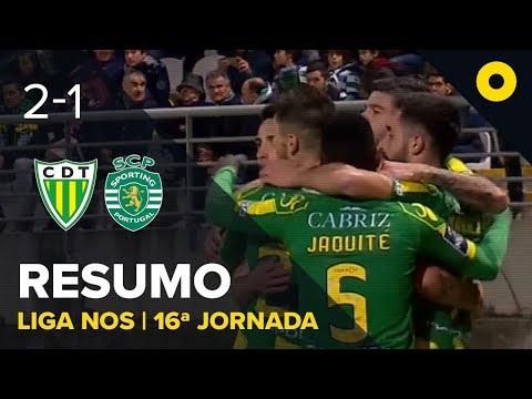 Tondela 2-1 Sporting - Resumo | SPORT TV