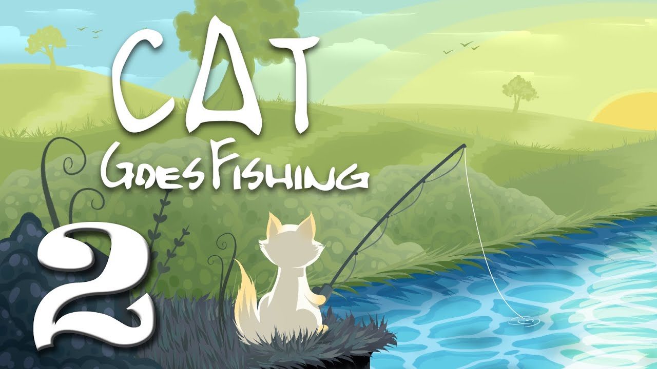 Cat goes fishing part 2 turgeon attacks youtube for Cat fishing 2