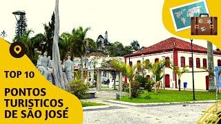 10 pontos turisticos mais visitados de São José