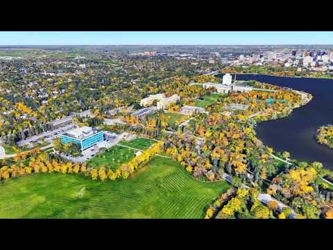Regina Saskatchewan - Google Earth drone video
