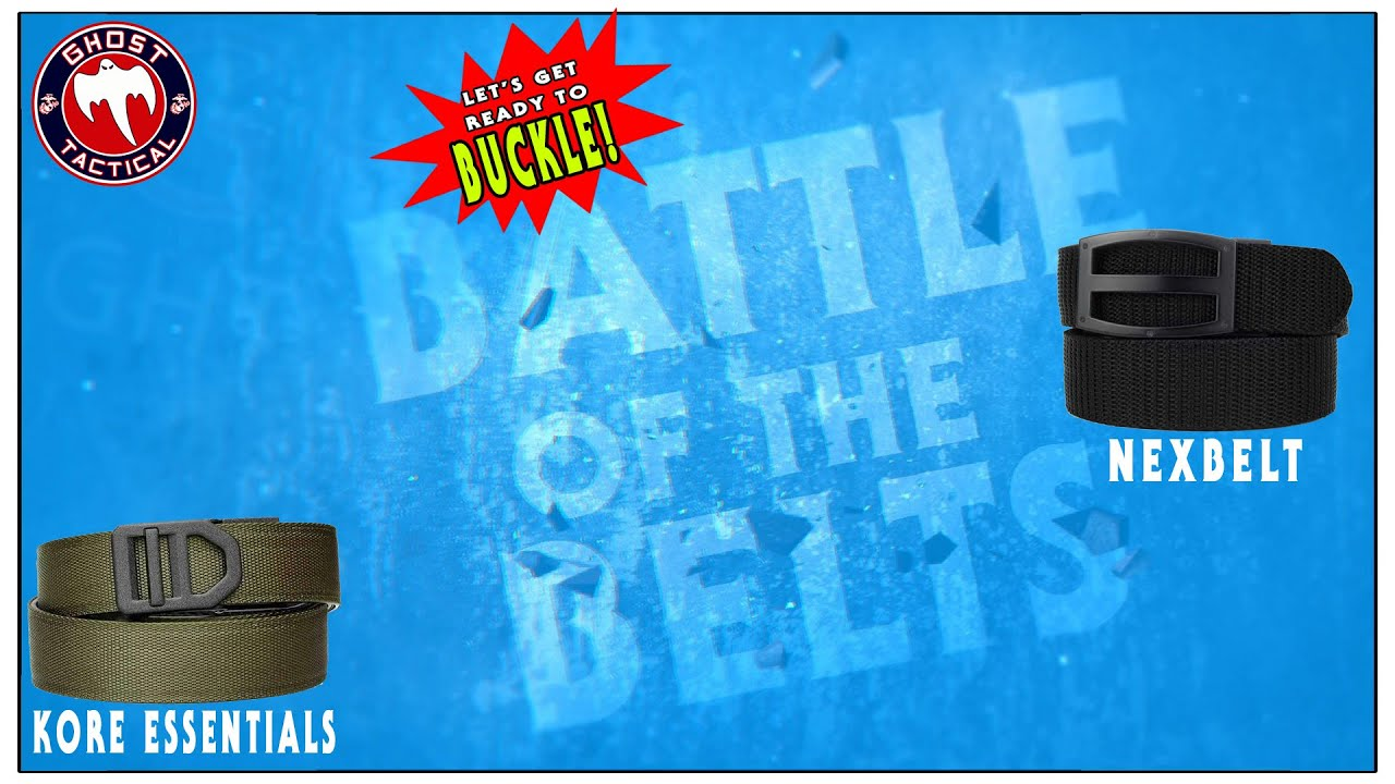 Battle Of The Belts Kore Essentials Vs Nexbelt Gun Belts Which Is Better For Carrying Youtube The new nexbelt rogue edc leather gunbelt is a great option when you need the stiffness of a gun belt, the dressiness of a. battle of the belts kore essentials vs nexbelt gun belts which is better for carrying