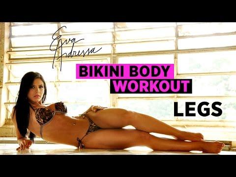 Bikini Body Workout: Leg Day Insanity   Eva Andressa