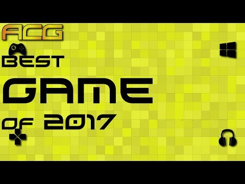 ACG 2017 Videogame Of the Year Award