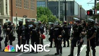 Shooting Incident Reported At Site of Louisville Protest   MSNBC
