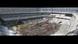 Official Construction Time-Lapse of MetLife Super Bowl XLVIII Stadium