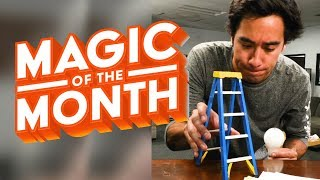Best Trick to Change a Light Bulb -  Magic of the Month of April