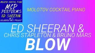 Blow Ed Sheeran amp Chris Stapleton amp Bruno Mars cover by Molotov Cocktail Piano
