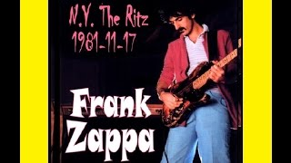 Frank Zappa Live At The Ritz (NYC) 1981-11-17 (concert)