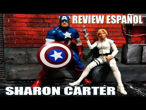 Sharon Carter Marvel Legends Series Bad Red Skull Onslaught Review Español ElCrisMic