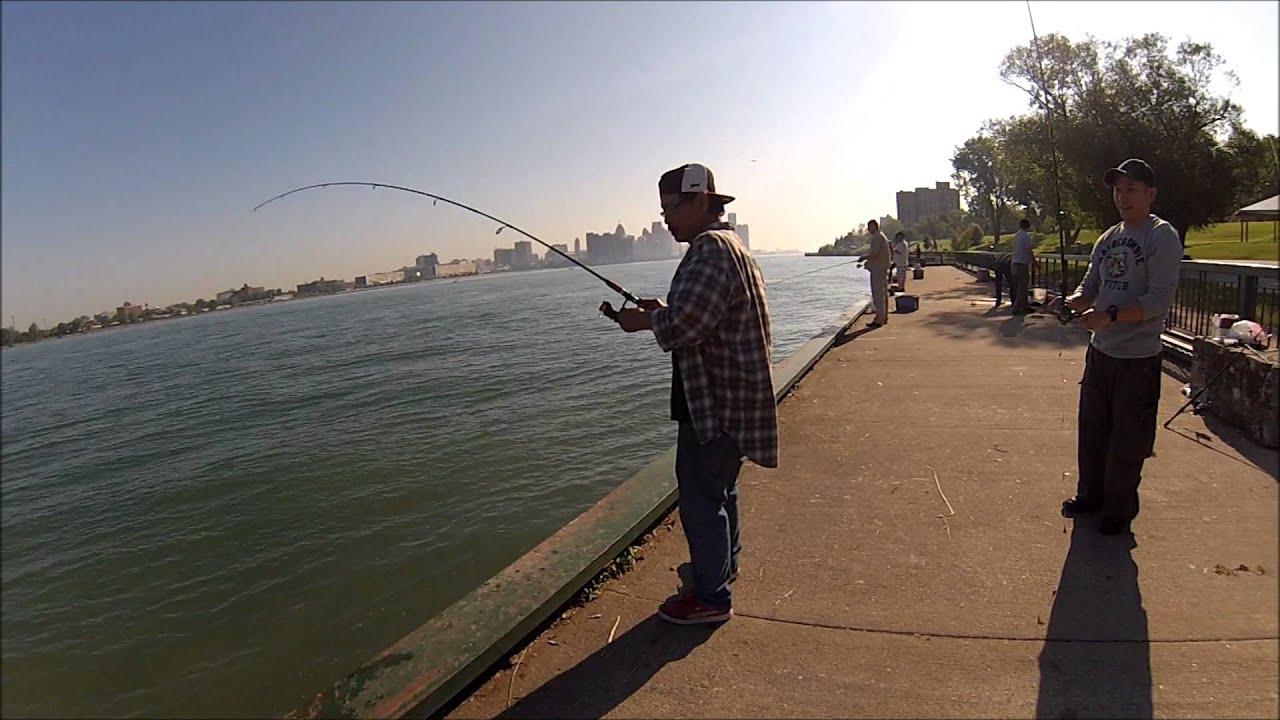 Windsor Detroit Fishing 3