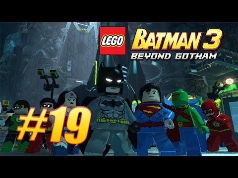 Ας παίξουμε Lego Batman 3:Beyond Gotham #19:Aw-Qward Situation