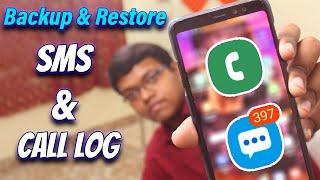 Backup & Restore SMS & Call Log Of Android Smartphone [Hindi] screenshot 3
