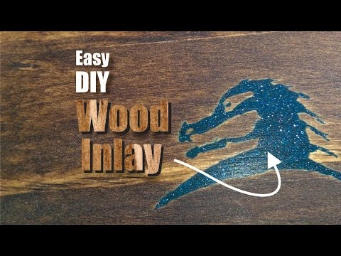 Easy DIY Wood Inlay