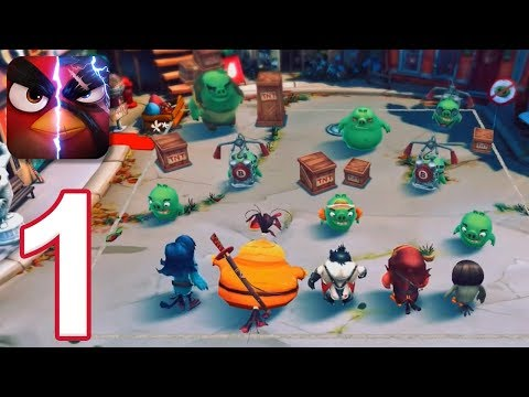 Angry Birds Evolution - Gameplay Walkthrough Part 1 - Chapter 1 (iOS, Android)
