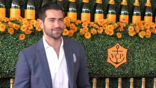 Jesse Metcalfe and Cara Santana at the Sixth Annual Veuve Clicquot Polo Classic at Will Rogers State