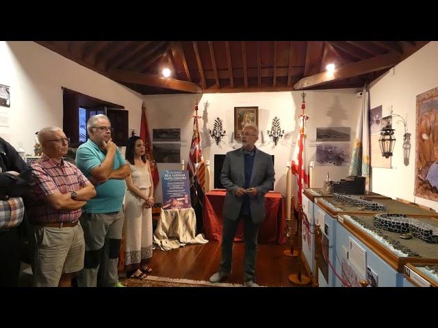 Presentación de los nuevos elementos de embellecimiento en el Real Castillo de Santa Catalina.