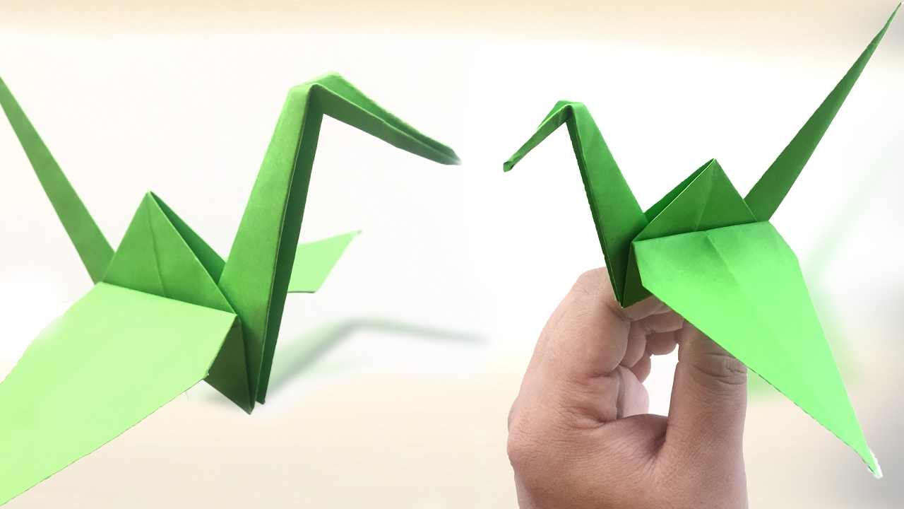 How to make an origami crane step by step paper crane tutorial how to make an origami crane step by step paper crane tutorial origami vtl jeuxipadfo Choice Image