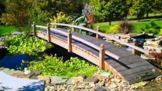 Landscaping Bridges Garden Bridges For Landscaped Yards Www.redwoodgardenbridges.com
