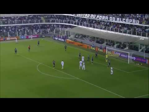 Santos 3 x 1 Ponte Preta Melhores Momentos & Gols do Santos - Brasileirão 2016