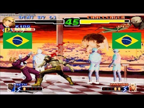 Kof 2000 Shagami (brazil) vs UM DOS DEUSES (brazil) Fightcade