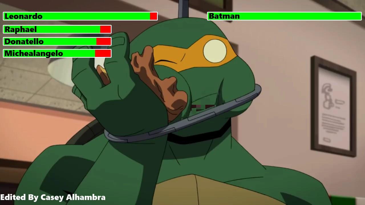 Download Teenage Mutant Ninja Turtles vs. Batman with healthbars