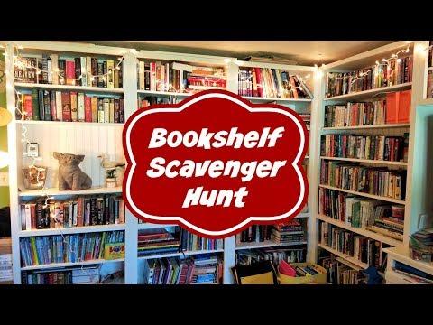 Bookshelf Scavenger Hunt Tag