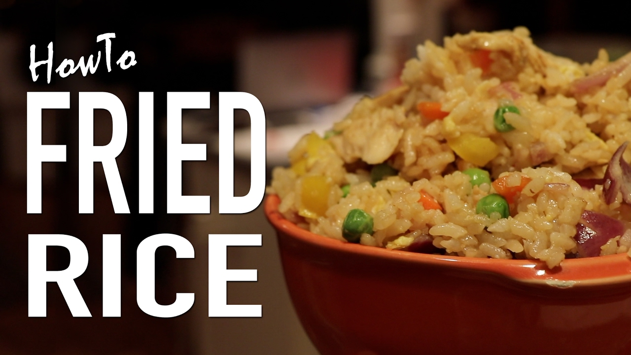 Diy authentic fried rice youtube ccuart Gallery