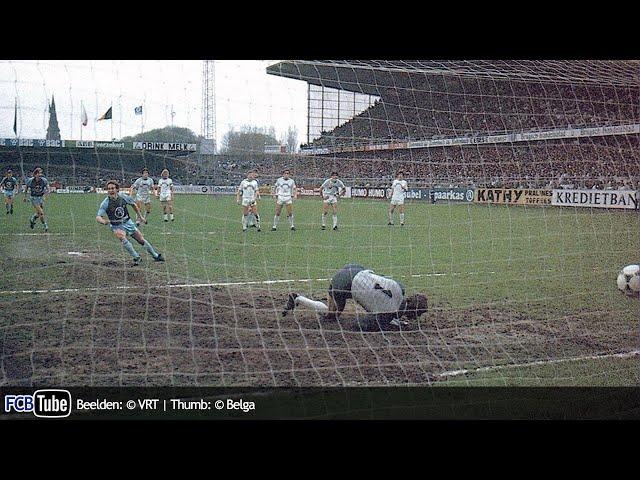 1985-1986 - Beker Van België - 09. Finale - Club Brugge - Cercle Brugge 3-0