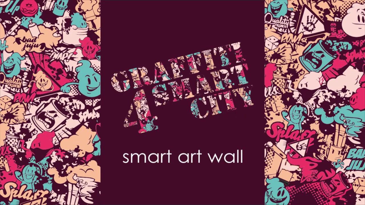 Graffiti 4 smart city by mosaicodigitale bioresin tile