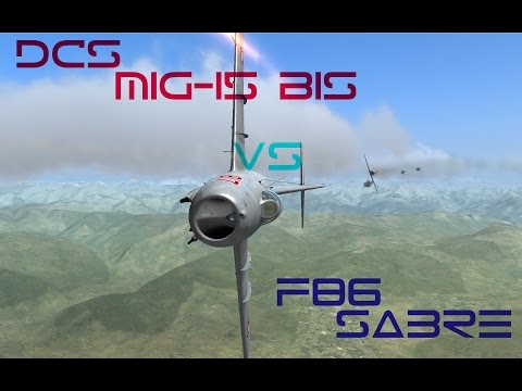 DCS- F86 VS MiG15 - Fighting for survival!