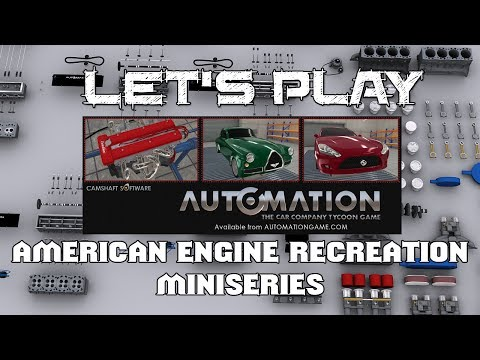 """Let's Play Automation : Episode 28 """"American Engines - Dodge 318 & Mopar 340 Six Pack"""""""