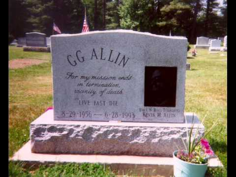 GG Allin - Scabs on my Body, Scars on my...