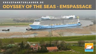 Odyssey of the Seas - Emsüberführung / River Ems Conveyance - 26. Februar 2021 - Royal Caribbean