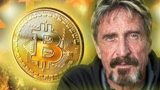 John McAfee: 'PLUNGE' Crypto Could Instantly Free Fall After 'SCARY' NSA Leak - that may shock you