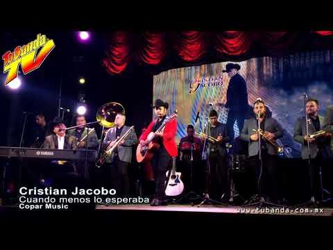 Showcase de Cristian Jacobo interpretando Cuando Menos lo Esperaba