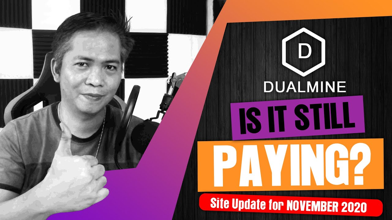DUALMINE Update November 2020, Is it still Paying? | Reinvest and Withdraw