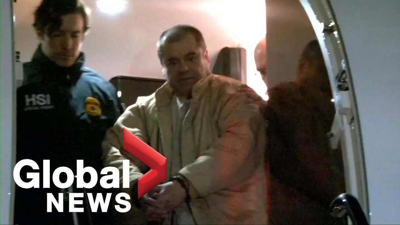 Download DEA shares video from Mexican drug lord El Chapo's 2017 extradition