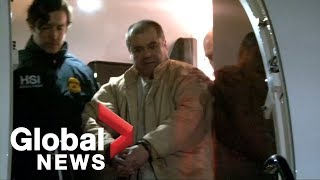 DEA shares video from Mexican drug lord El Chapo's 2017 extradition