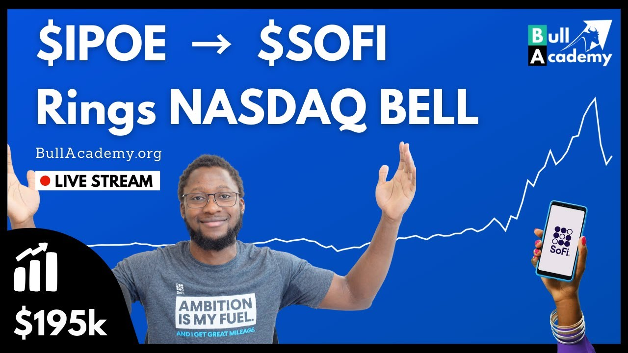 SoFi stock closes up more than 12% after debut on Nasdaq