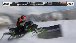 X Games Heat 2 2017 snocross