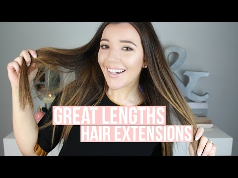 Great Lengths Hair Extensions 101 | Grace Denny