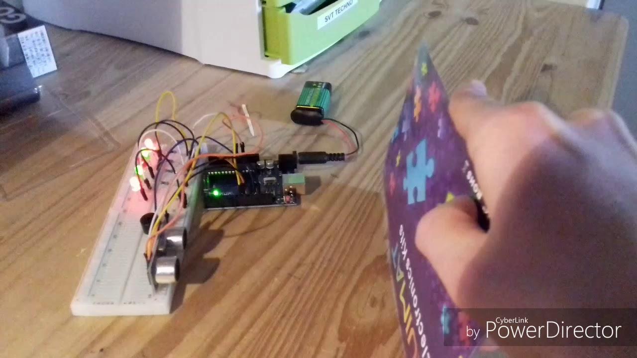 Homemade car reversing radar with Arduino