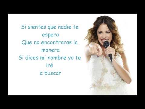 Violetta - Algo Se Enciende - Letra.