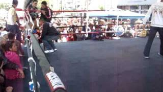 Gee's Fight at the Asian Street Festival